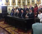 Bancada del Frente Amplio celebra aprobación en primer debate del nuevo Código Procesal Laboral