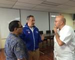 Visita del Ministro de Salud al Hospital San Carlos