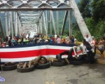 El pesebre más triste: el puente del Río Térraba