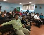 Representantes del Colegio de Médicos visitan el Hospital San Carlos