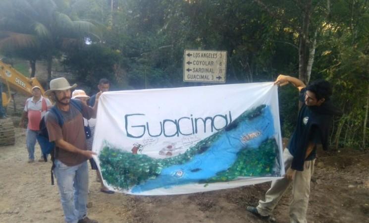 En Guacimal defienden el río Veracruz