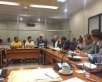 Campesinos de Chánguina en la Comisión de Seguridad