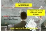 Informe semanal de labores 100