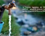 Fracción del FA apoya Ley Recurso Hídrico.