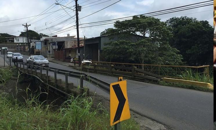 Construirán puente río Platanar.
