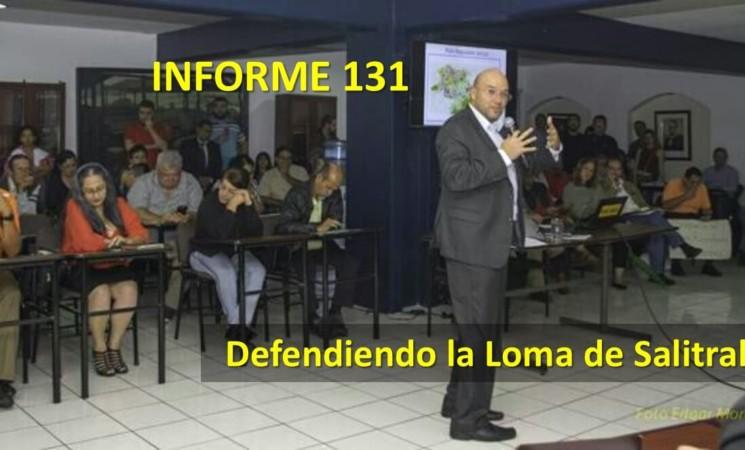 Informe semanal de labores 131