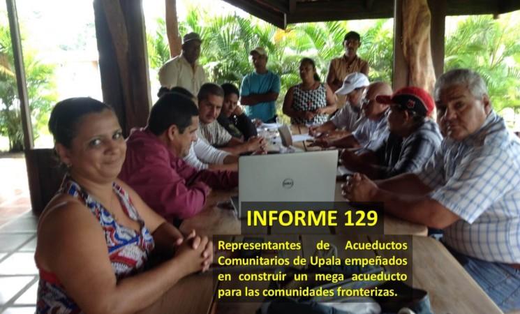 Informe semanal de labores 129