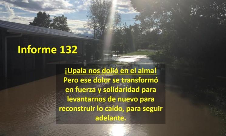 Informe semanal de labores 132