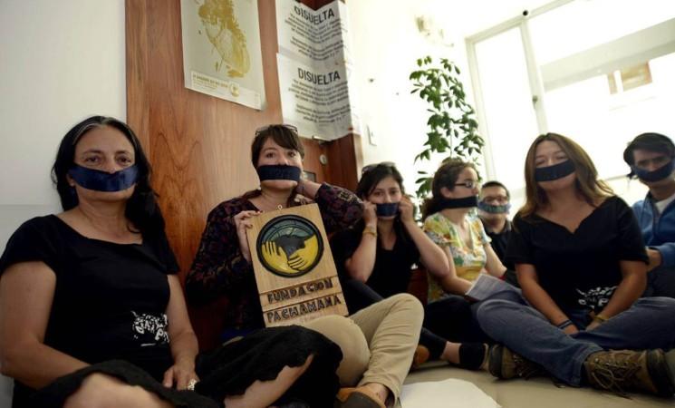Denuncian hostigamiento de organización ecologista.