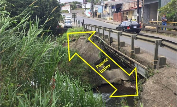 Avanza nuevo puente en entrada a San Gerardo.