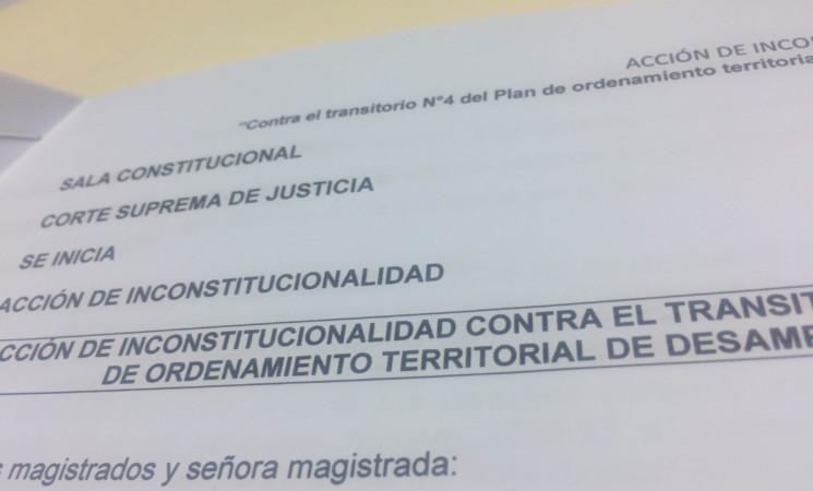 Loma Salitral: presentamos acción para detener permisos