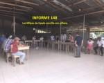 Informe semanal de labores 148