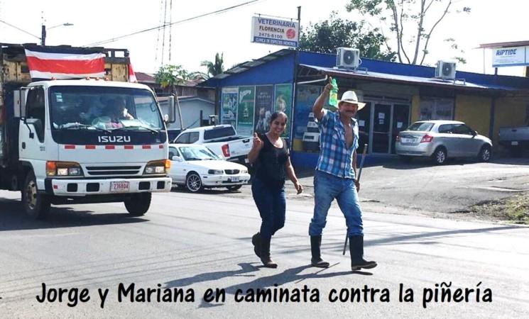 Jorge y Mariana: seguimiento de gira