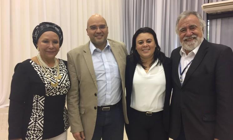 Encuentro con Alejandro Encinas Rodríguez, senador de México.