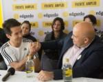Edgardo Araya recibe apoyo de personalidades