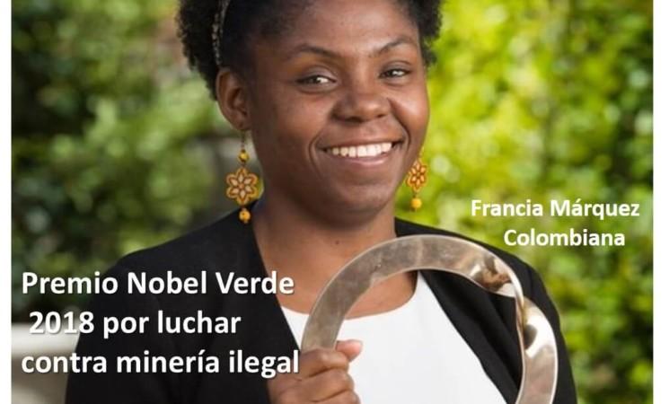 Premio por lucha contra minería ilegal.